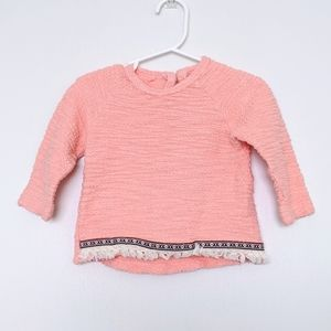 ☮️ Jessica Simpson Baby Boho Pullover Sweater
